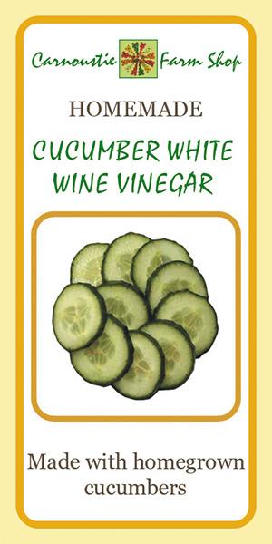 Cucumber wine vinegar