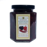 Bettroot red pepper chutney