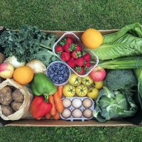 Fruit veg boxes